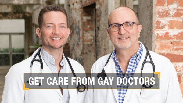 Get Care from gay doctors